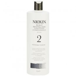 Balsam Par Fin Natural Dramatic Subtiat - Nioxin System 2 Scalp Revitaliser Conditioner 1000 ml