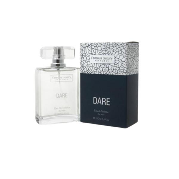 Apa de parfum DARE pentru barbati Famous Luxury Perfumes 100 ml