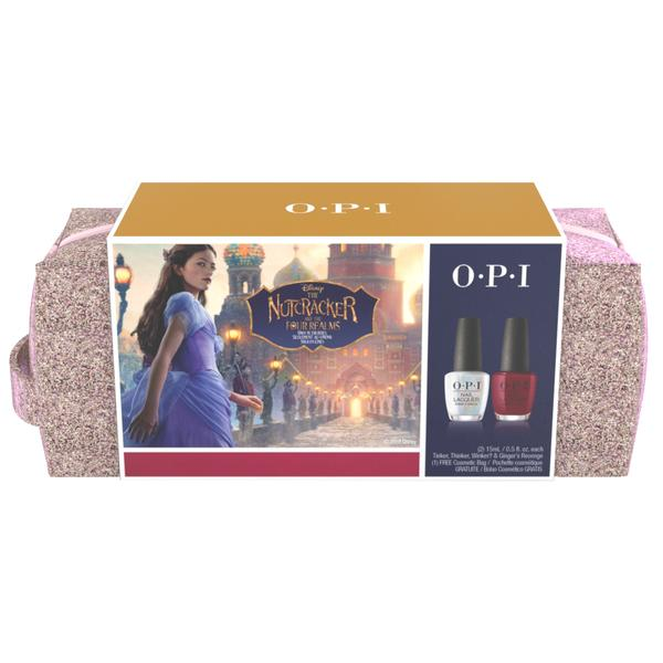 Set pentru Manichiura OPI Nail Lacquer Nutcracker Duo Pack, 2 x 15ml imagine produs