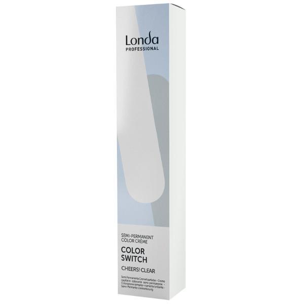 Vopsea Semi-Permanenta - Londa Professional Color Switch Semi-Permanent Color Creme, Cheers! Clear, 80ml imagine