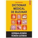 Dictionar medical de buzunar German-Roman, Roman-German ed.2 - Hans Neumann, editura Polirom
