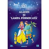 Aladin si lampa fermecata. Carte de colorat, editura Eurobookids