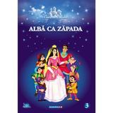 Alba ca Zapada. Carte de colorat, editura Eurobookids