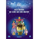 Ali baba si cei 40 de hoti (carte de colorat)