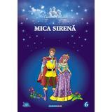 Mica sirena (carte de colorat)