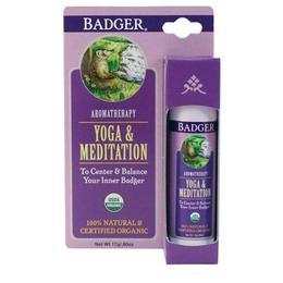 Ulei esential / balsam aromaterapie Badger Yoga si Meditatie 17g de la esteto.ro