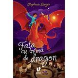 Fata cu inima de dragon - Stephanie Burgis, editura Storia