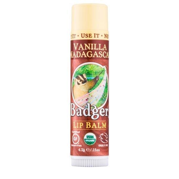 Balsam de buze Badger Vanilla Madagascar 4.2g imagine produs