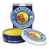 Crema / Mini balsam aromatic pentru desfundarea nasului si respiratie regulata Badger Chest Rub 21 g
