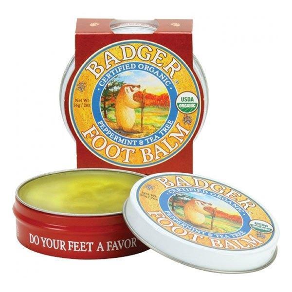 Balm Mini balsam pentru picioare obosite, calcaie crapate Badger Foot 21g imagine produs