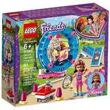 LEGO Friends - terenul de joaca al hamsterului oliviei (41383)