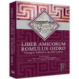 Liber amicorum romulus gidro - eugen huruba
