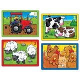 Farm, Four in a box. Set 4 puzzle-uri, Ferma