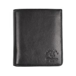Portofel pentru barbati Westpolo, PT63 piele naturala, calitate Premium, model negru
