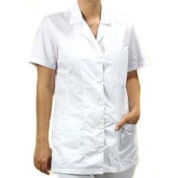 Halat Scurt Femei Prima, alb, tercot, marime XL (50-52)