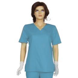 Bluza Unisex Prima, bleu, tercot, marime XS (34-36)