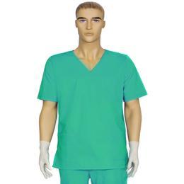 Bluza Unisex Prima, verde, tercot, marime S (38-40)