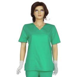 Bluza Unisex Prima, verde, tercot, marime M (42-44)