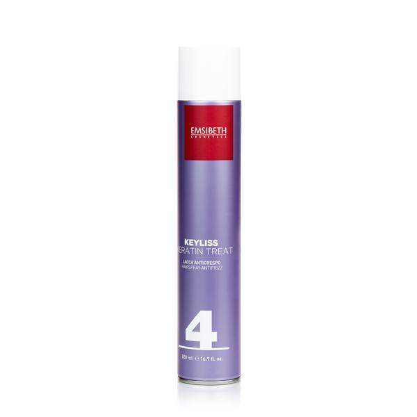 Fixativ pentru păr cu efect anti-electrizare Keyliss Keratin Treat Emsibeth, 500 ml imagine produs