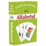 Alfabetul - Carti de joc educative , editura Gama