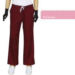 Pantalon Dama Modern Prima, roz deschis, tercot, marime XS (34-36)