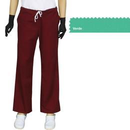 Pantalon Dama Modern Prima, verde, tercot, marime L (46-48)