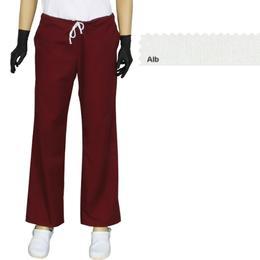 Pantalon Dama Modern Prima, alb, tercot, marime L (46-48)