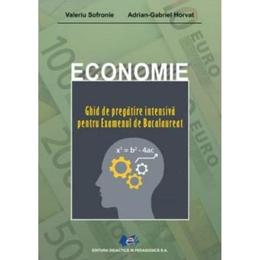 Economie. Ghid de pregatire intensiva pentru examenul de Bacalaureat - Valeriu Sofronie, Adrian G. Horvat, editura Didactica Si Pedagogica
