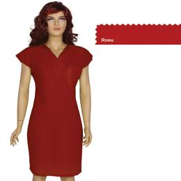 Rochita Femei Prima, rosu, tercot, marime XL (50-52)