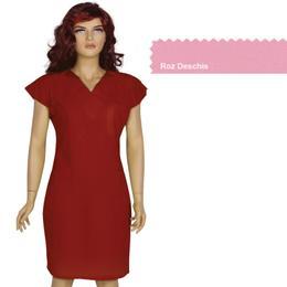 Rochita Femei Prima, roz deschis, tercot, marime XL (50-52)