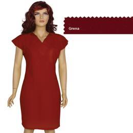 Rochita Femei Prima, grena, tercot, marime XL (50-52)
