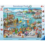 Puzzle o zi in port, 24 piese - Ravensburger