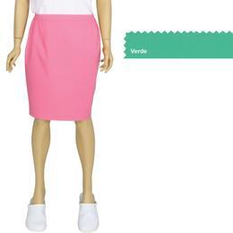 Fusta Femei Prima, verde, tercot, marime XL (50-52)