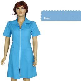 Sarafan Femei Prima, bleu, tercot, marime XS (34-36)