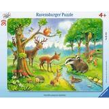 Puzzle animale salbatice, 30 piese - Ravensburger