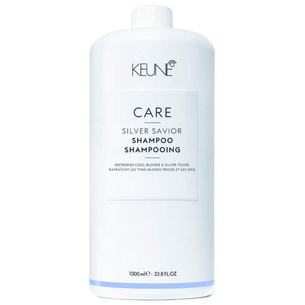 Sampon pentru Par Blond - Keune Care Silver Savior Shampoo, 1000ml