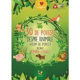 30 de povesti despre animale (roman-englez), editura Aquila