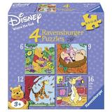 Puzzle winnie the pooh, 6/9/12/16 piese - Ravensburger