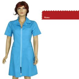 Sarafan Femei Prima, rosu, tercot, marime XL (50-52)