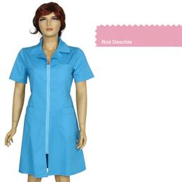 Sarafan Femei Prima, roz deschis, tercot, marime XL (50-52)