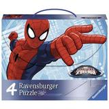 Puzzle spiderman, 2x64 piese, 2x81 piese - Ravensburger