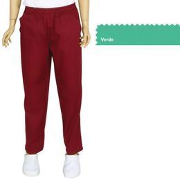 Pantalon Unisex Prima, tercot, verde, marime S (38-40)