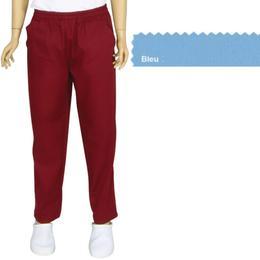 Pantalon Unisex Prima, tercot, bleu, marime XL (50-52)