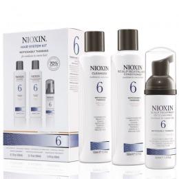 Nioxin – Pachet complet System 6 pentru parul normal spre aspru, cu tendinta dramatica de subtiere si cadere, natural sau vopsit de la esteto.ro
