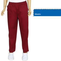 Pantalon Unisex Prima, tercot, albastru, marime XS (34-36)