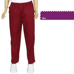 Pantalon Unisex Prima, tercot, mov, marime L (46-48)