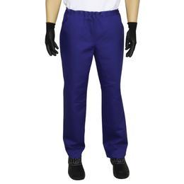 Pantalon de Lucru Unisex Prima, bumbac, albastru, marime S (38-40)