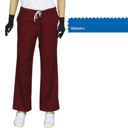 Pantalon Dama Modern Prima, albastru, tercot, marime XL (50-52)