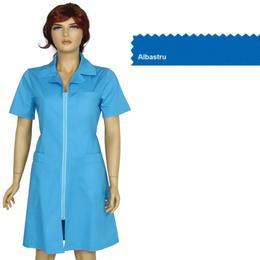 Sarafan Femei Prima, albastru, tercot, marime XS (34-36)