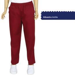 Pantalon Unisex Prima, tercot, albastru inchis, marime S (38-40)